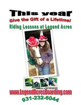 Give the Gift of a Lifetime this year with Riding lessons in Fort Campbell, Kentucky