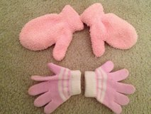 Baby Girl Mittens & Gloves 6-12 mos. in Aurora, Illinois