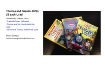 Thomas and Friends-DVDs in Okinawa, Japan