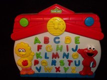 Sesame Street Big Bird/Elmo Let's Find ABC/Alphabet Learning Educational Tabletop GameTyco 1997 in Glendale Heights, Illinois