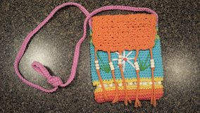 girls colorful crochet purse in Plainfield, Illinois