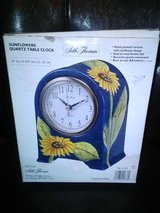 New / Seth Thomas Sunflower Clock in Fort Campbell, Kentucky