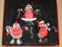 BRAND NEW IN BOX-  Set of 3 Picture Ornaments in Houston, Texas