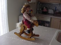 Doll on Rocking Horse in Alamogordo, New Mexico