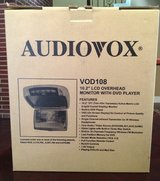 """Audiovox 10"""" monitor/TV with DVD player & built in games NEW in Houston, Texas"""