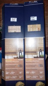 4ft wide Levolor Window Shades-(2) New in Anchorage, Alaska
