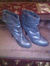 New / Charcoal / Gray / Leather Boot in Fort Campbell, Kentucky