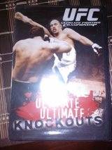New / UFC Ultimate Knockouts DVD in Fort Campbell, Kentucky