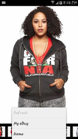 New 3x CALIFORNIA zip up sweater in Fort Lewis, Washington