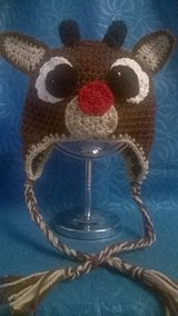 Crochet Roudolf Reindeer Ear Flap Hat in Tacoma, Washington