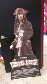 Pirates of the Caribbean Cardboard Cutout in Houston, Texas