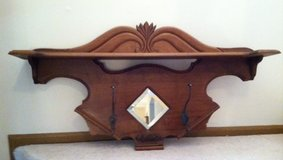 Vintage Cherry Coat Rack in Bolingbrook, Illinois