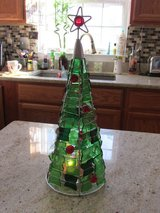 Glass Christmas Tree Candle Holder in Fort Belvoir, Virginia