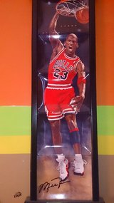 Michael Jordan rising to greatness plates in Toms River, New Jersey