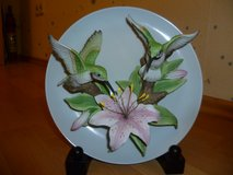 Seymour Mann Connoisseur Collection Hummingbird Plate in Stuttgart, GE