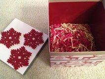 Christmas Holiday Gift Box, Lid & filling in Chicago, Illinois