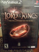 PS2 Lord of The Rings game in Houston, Texas