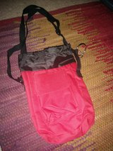 bag, with handle, in Lockport, Illinois