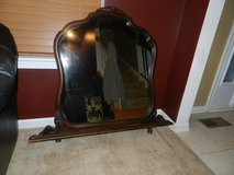 Solid wood mirror for a dresser for entry way in Sandwich, Illinois