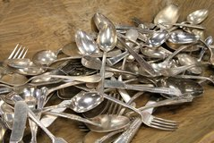 Silverware, old or any discarded silverware in Quad Cities, Iowa