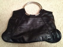 "BLACK 12""W Faux Leather Clutch Purse in Bolingbrook, Illinois"