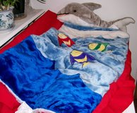 Children's sleeping bag in Yucca Valley, California