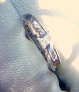 Diamond ring with diamond accents and a heart on the side !  Just gorgeous! in Alamogordo, New Mexico