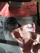 Ballerina Pink Dance Tights, Transition Tights, for girls, size M (approx. 5-6 years) NEW in Camp Lejeune, North Carolina