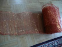 large roll red decorative ribbon in Ramstein, Germany