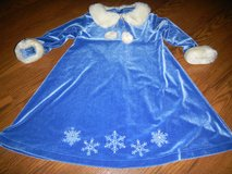 Bitty Baby by American Girl Girls Christmas Snowflake Dress Size 4 in Kingwood, Texas