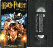 Harry Potter & the Sorcerer's Stone VHS in Kingwood, Texas