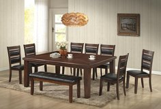 NEW LARGE DINE SET ONLY $699 in Riverside, California