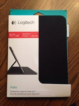 Brand new Logitech ultra thin iPad Air folio case in Naperville, Illinois