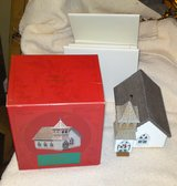 Three Hallmark Sarah Plain and Tall Miniature Houses in Camp Lejeune, North Carolina