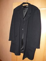 REDUCED Fine wool Mens coat (like new) in Spangdahlem, Germany