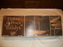 "Wooden Ship Model Goleta de Pesca ""Gladys"" in Alamogordo, New Mexico"