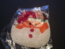 Beaded Santa coin purse in Ramstein, Germany