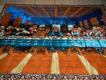 Vintage Last Supper wall tapestry in Aurora, Illinois