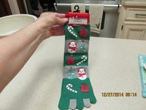Womens' Holiday Toe Socks - Fits Shoe Sizes 4-10 - NIP in Kingwood, Texas