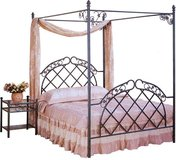 NEW CANOPY BED WITH MATTRESS $249 in Riverside, California