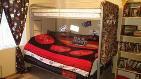 Twin over Futon Low Loft Bed with 6'' twin mattress in Colorado Springs, Colorado