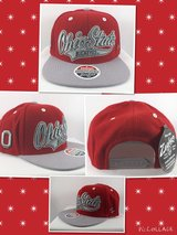 BRAND NEW!!! OHIO STATE BUCKEYES NCAA SNAPBACK RED /GRAY CAP NEW HAT BY ZEPHYR in Travis AFB, California