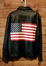 leather jacket with American flag in Dover, Tennessee