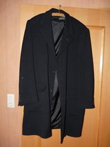 Fine wool Mens coat (like new) in Spangdahlem, Germany