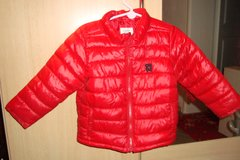 Old Navy sz 2T red puffy coat in Ramstein, Germany