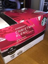 STARBUCKS CHRISTMAS BLEND K-CUPS 12 ( 1 BOX ) COUNT LIMITED TIME HOLIDAY SPECIA in Fort Carson, Colorado