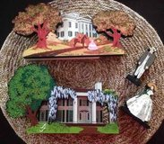 Gone With The Wind, Collectible Scenes in Houston, Texas