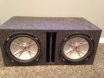 Kicker subwoofer in Sandwich, Illinois