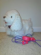 Fur Real Dog w/ leash in Joliet, Illinois