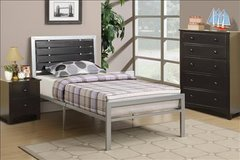 NEW TWIN BED WITH MATTRESS $158 OR FULL SIZE $180 in Riverside, California
